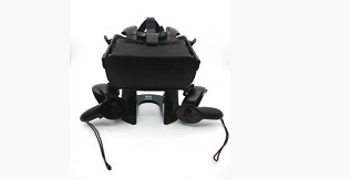 VR Stand and Headset Display