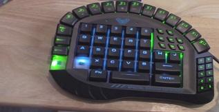 Most Versatile One Handed Gaming Keyboard