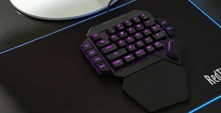 Best One Handed Gaming Keyboard for PS4 and Xbox