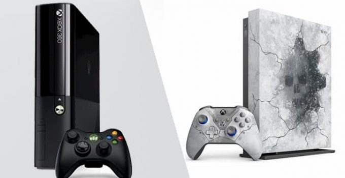 Xbox and Xbox One Comparison