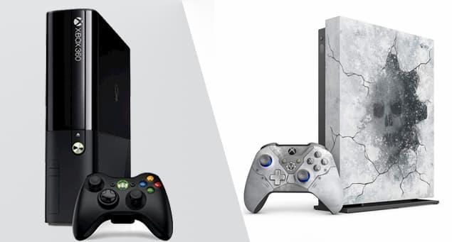 Xbox and Xbox One Comparison